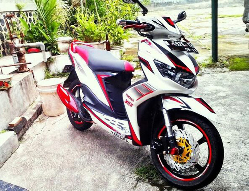 modifikasi new mio soul gt  paling bagus