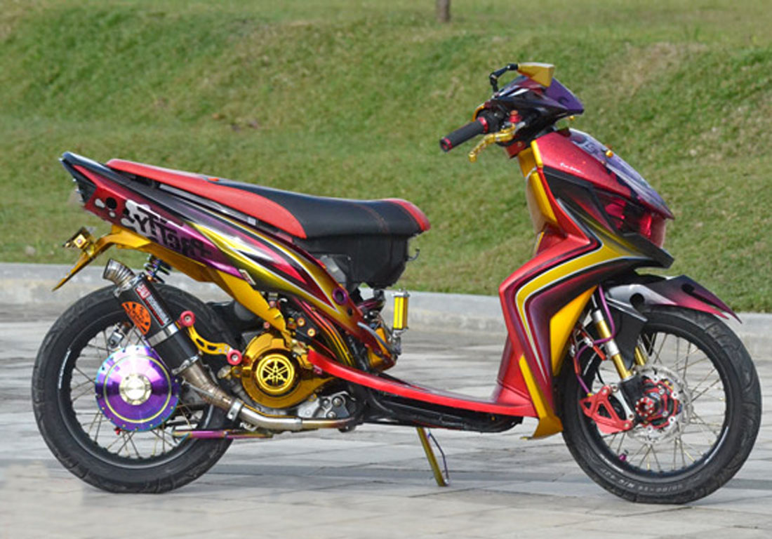 Top mio soul full modifikasi