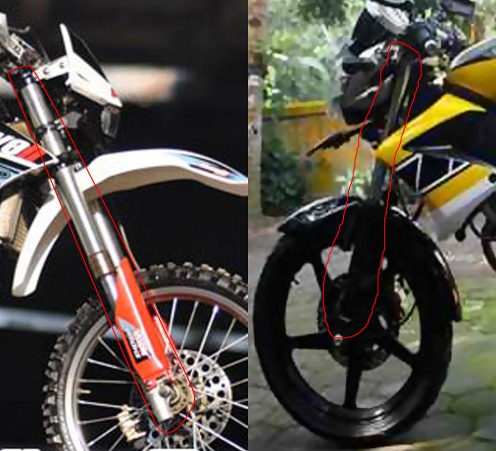 Modifikasi Vixion Ala Trail MorTech Panduan Modifikasi Motor