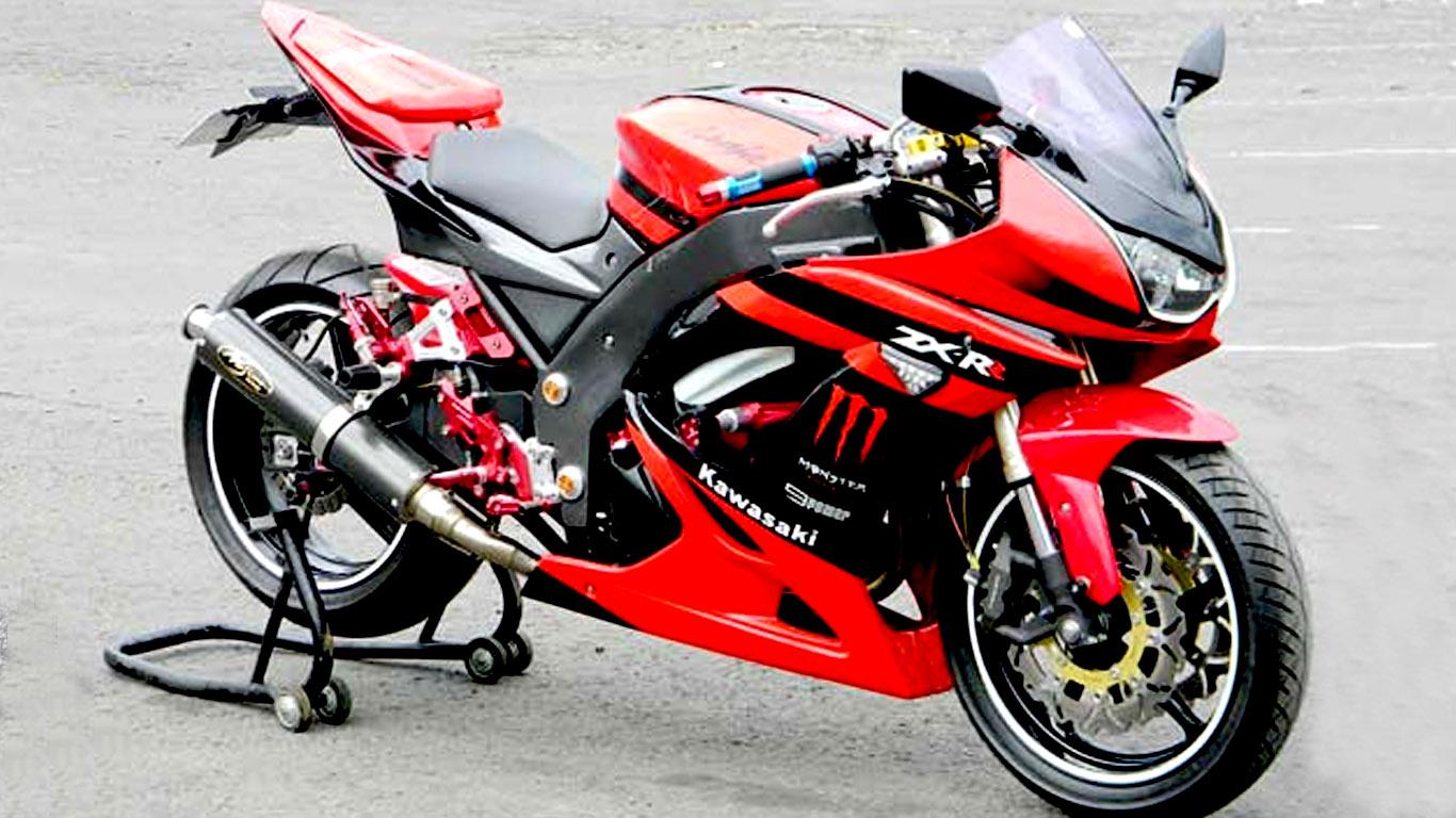 Variasi Motor Ninja 250 referensi