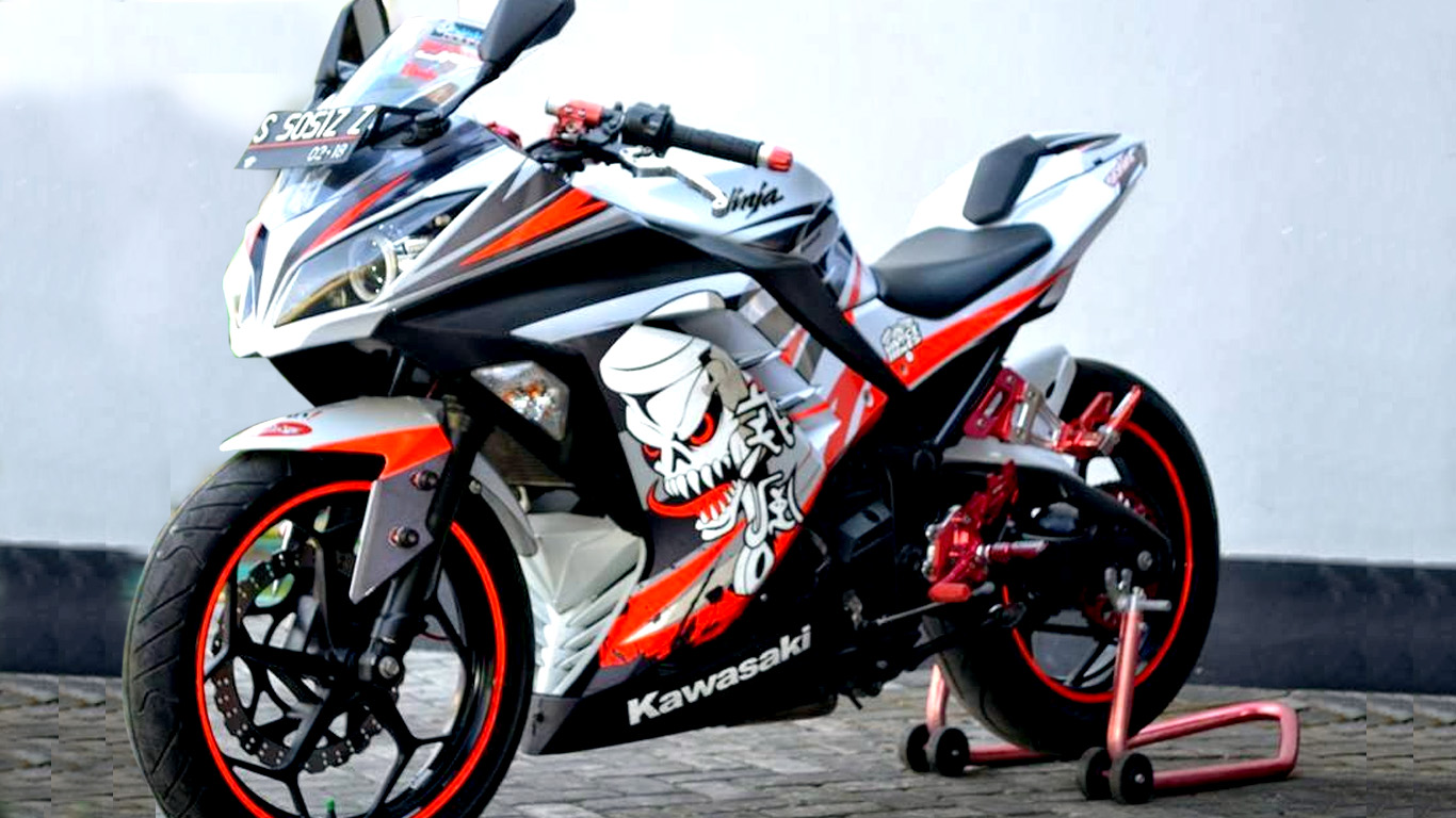 Top modifikasi ninja 4 tak 2014