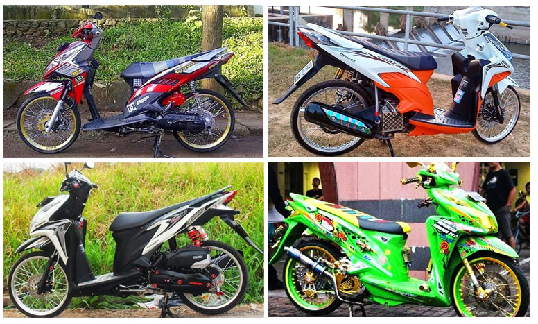Motor Rakitan: Modifikasi Motor Honda Beat Pop