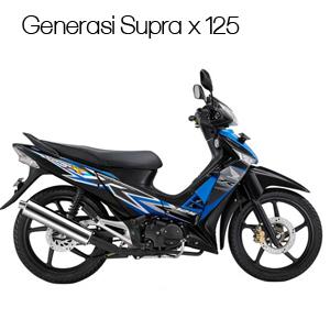 Generasi supra x 125